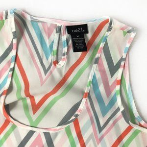 Rue21 Chevron Striped Shirt